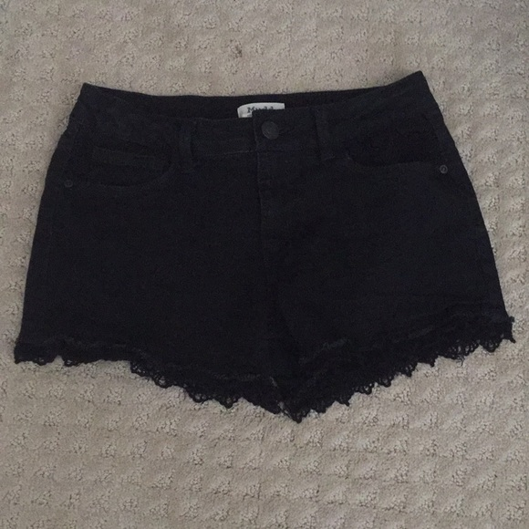 Mudd Other - Black denim shorts